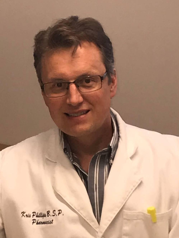 Pharmacist Kris Phillips