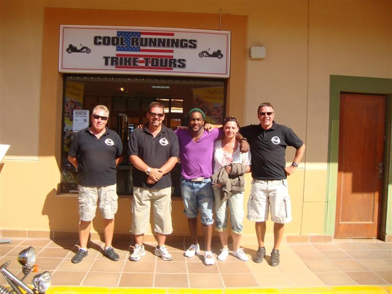 Marcel, Lynda, John, Mark and Paul
