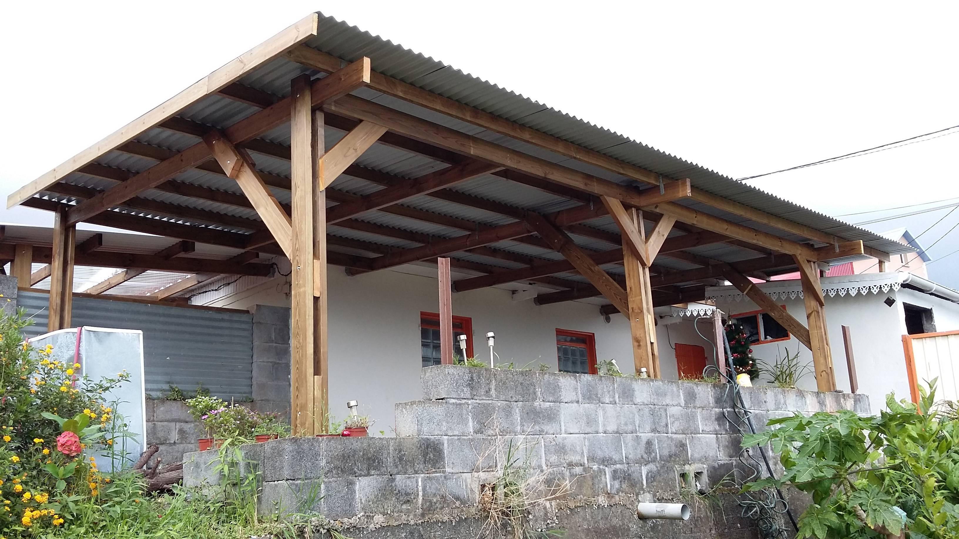 pergola, terrasse