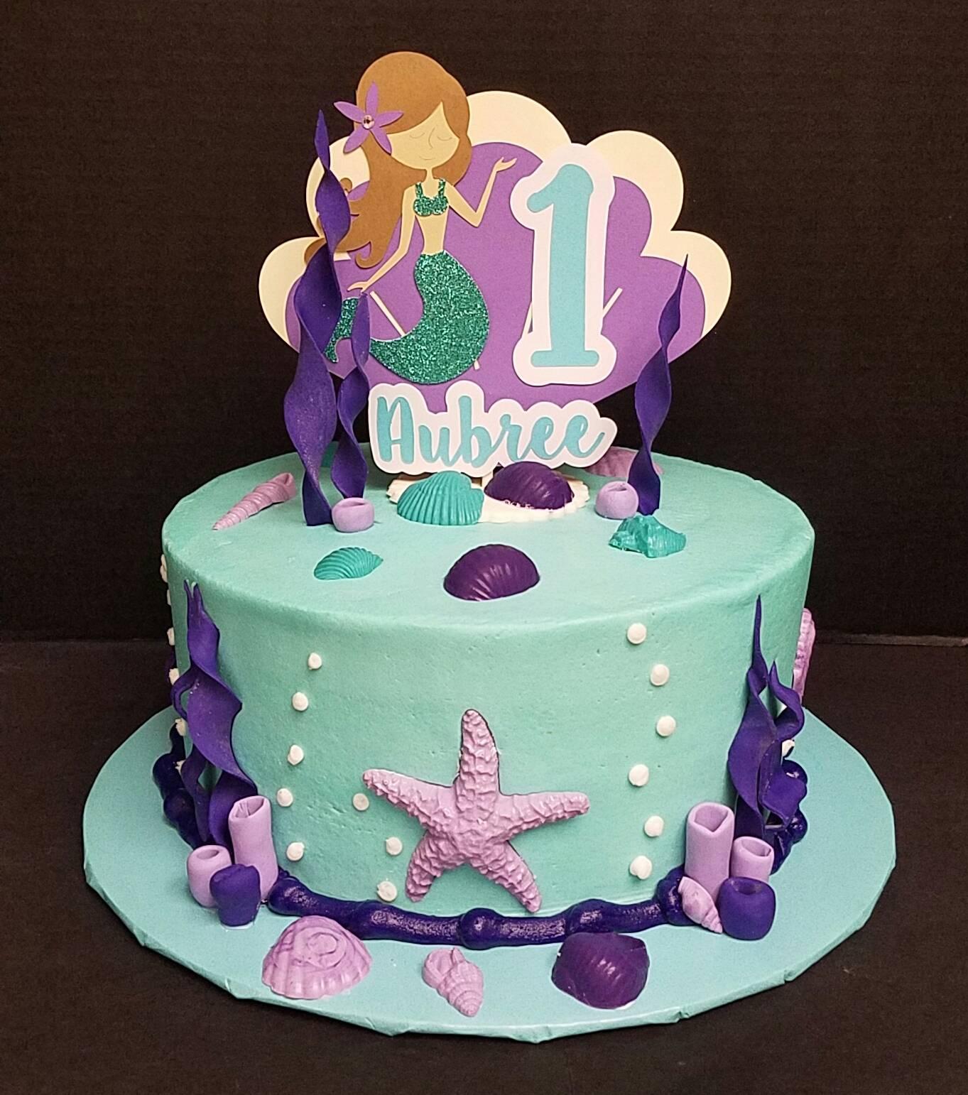 Mermaid Teal and Purple