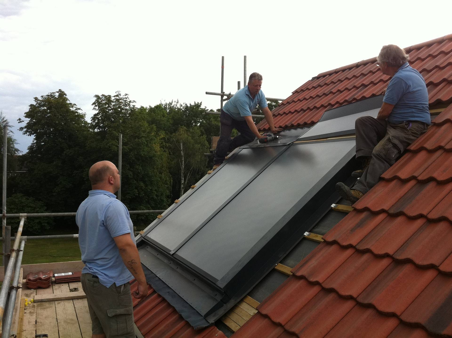 Solar thermal in Spalding