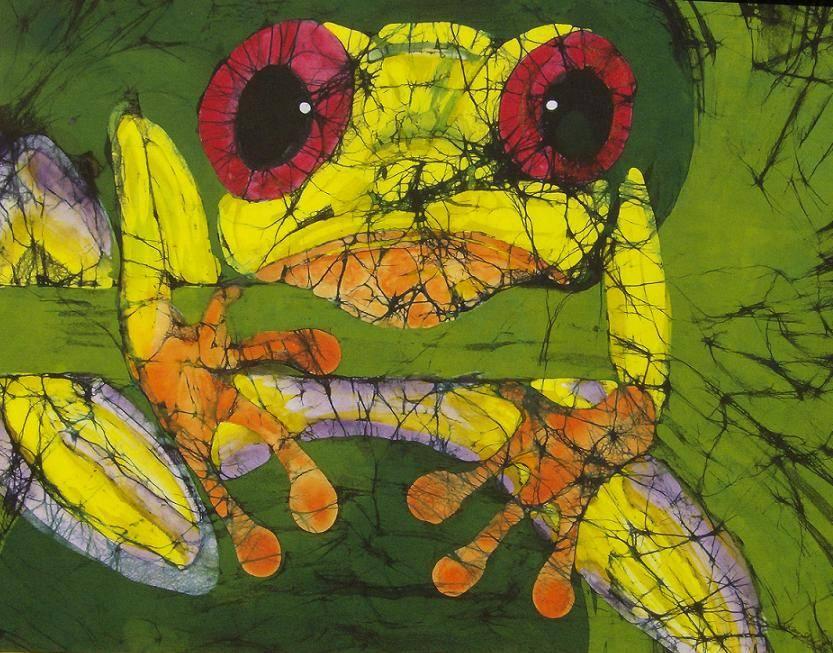 Frog on Ginko