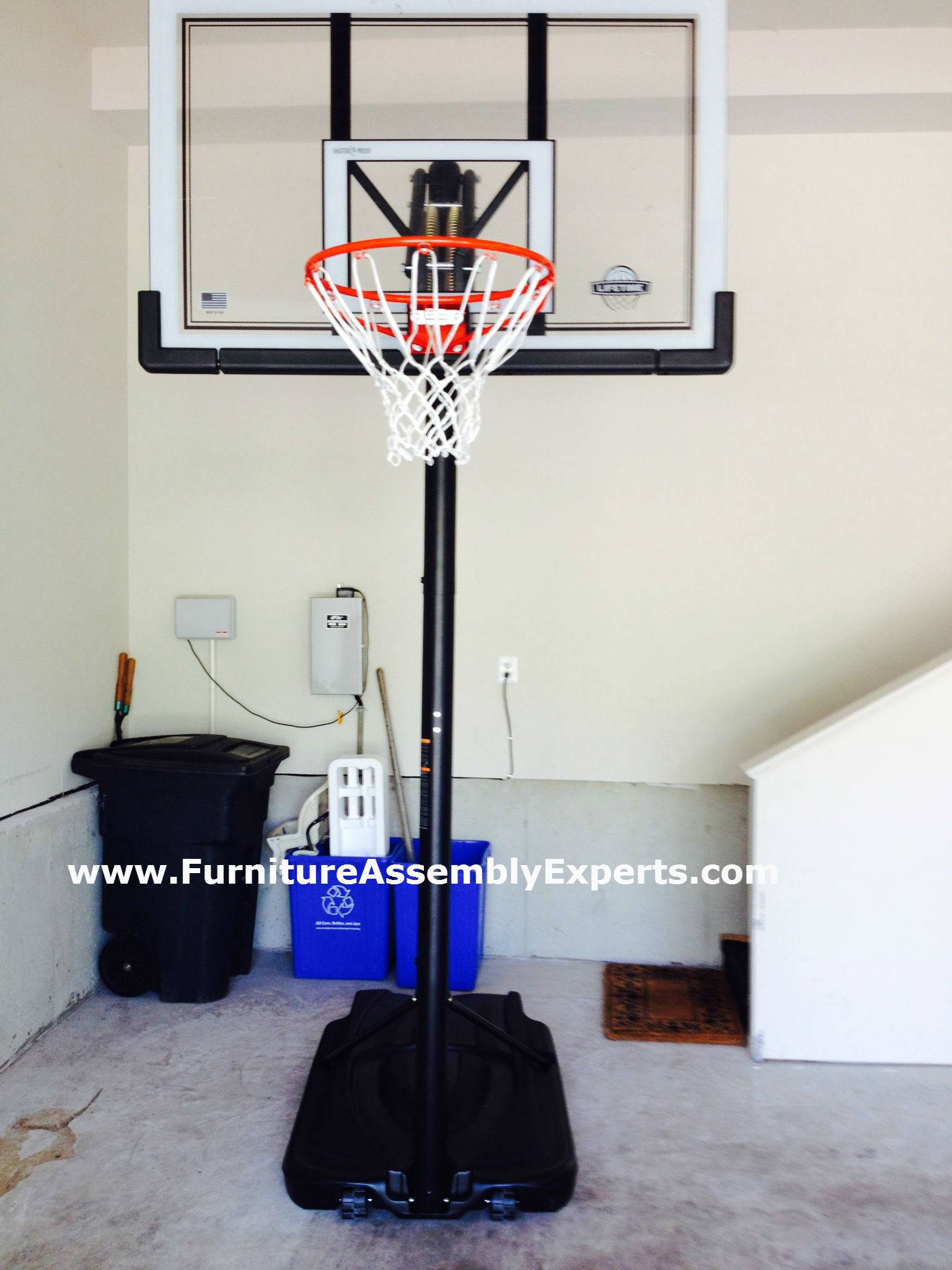 costco portable basketball hoop assembly service in chantilly VA