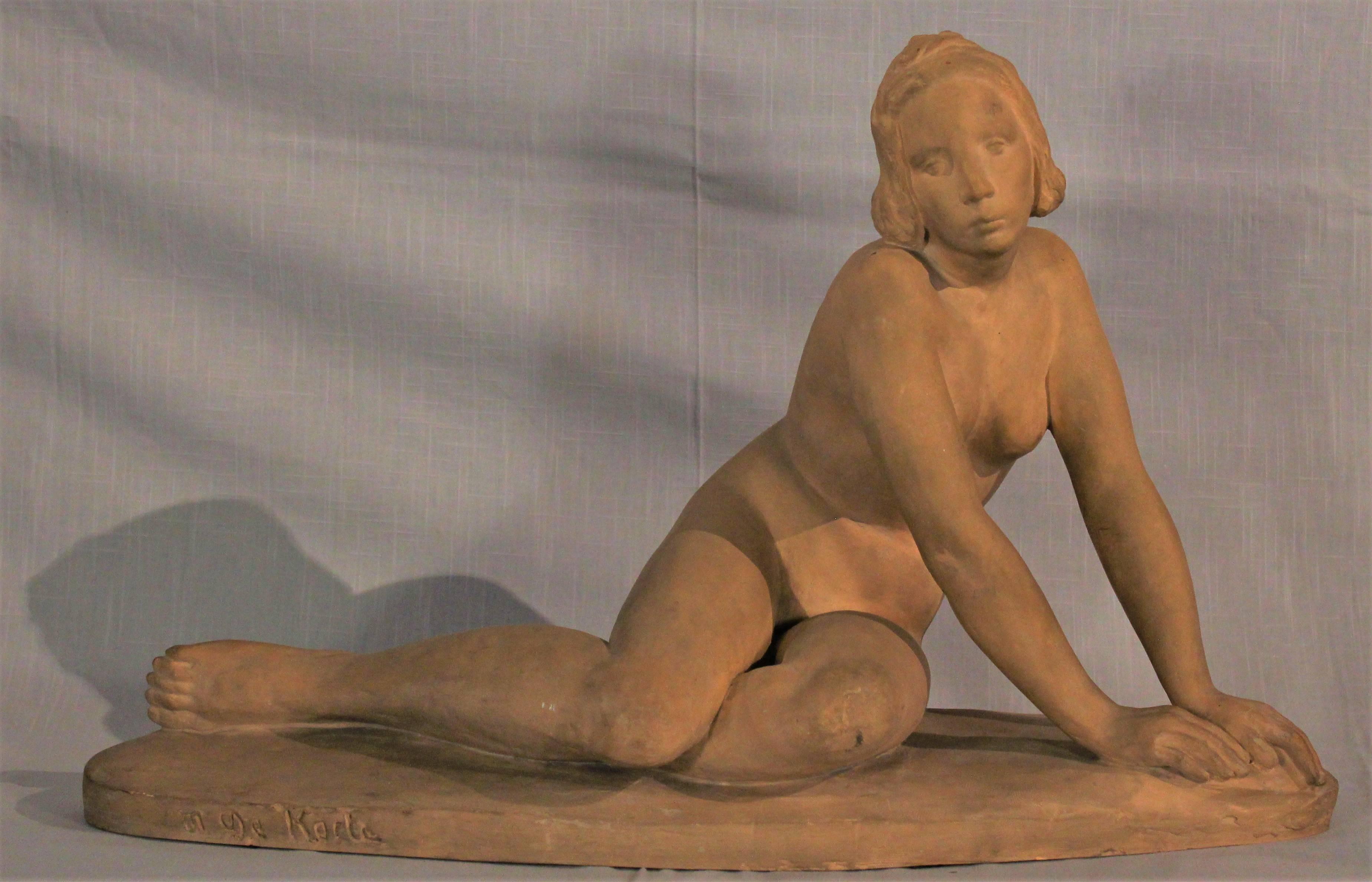 Sculpture de Maurice De Korte