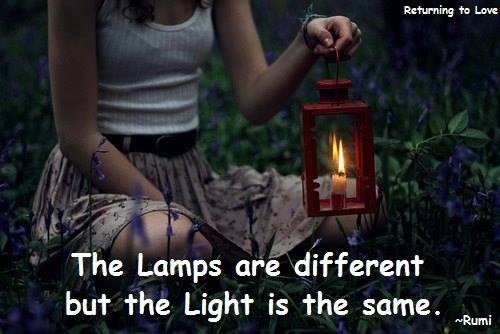 Lamps are different