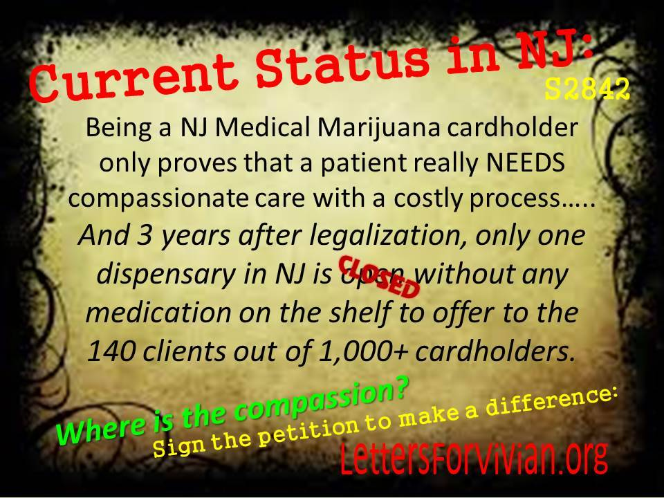 Current Status of NJ MMP