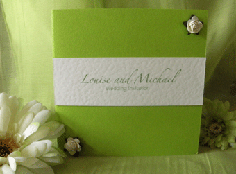 Lime Rose Day Invite