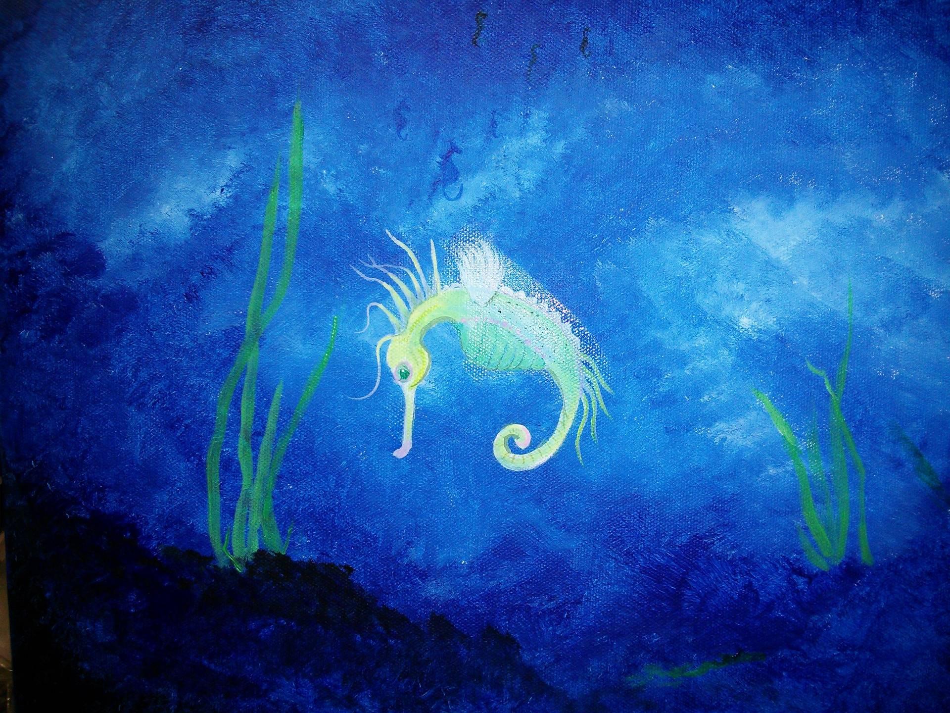 """Tiny Diver"""
