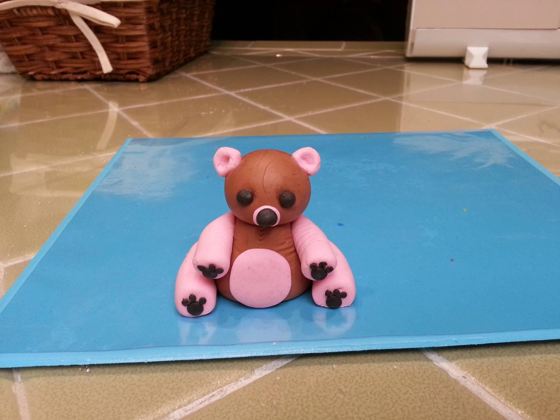 Gumpaste Bear