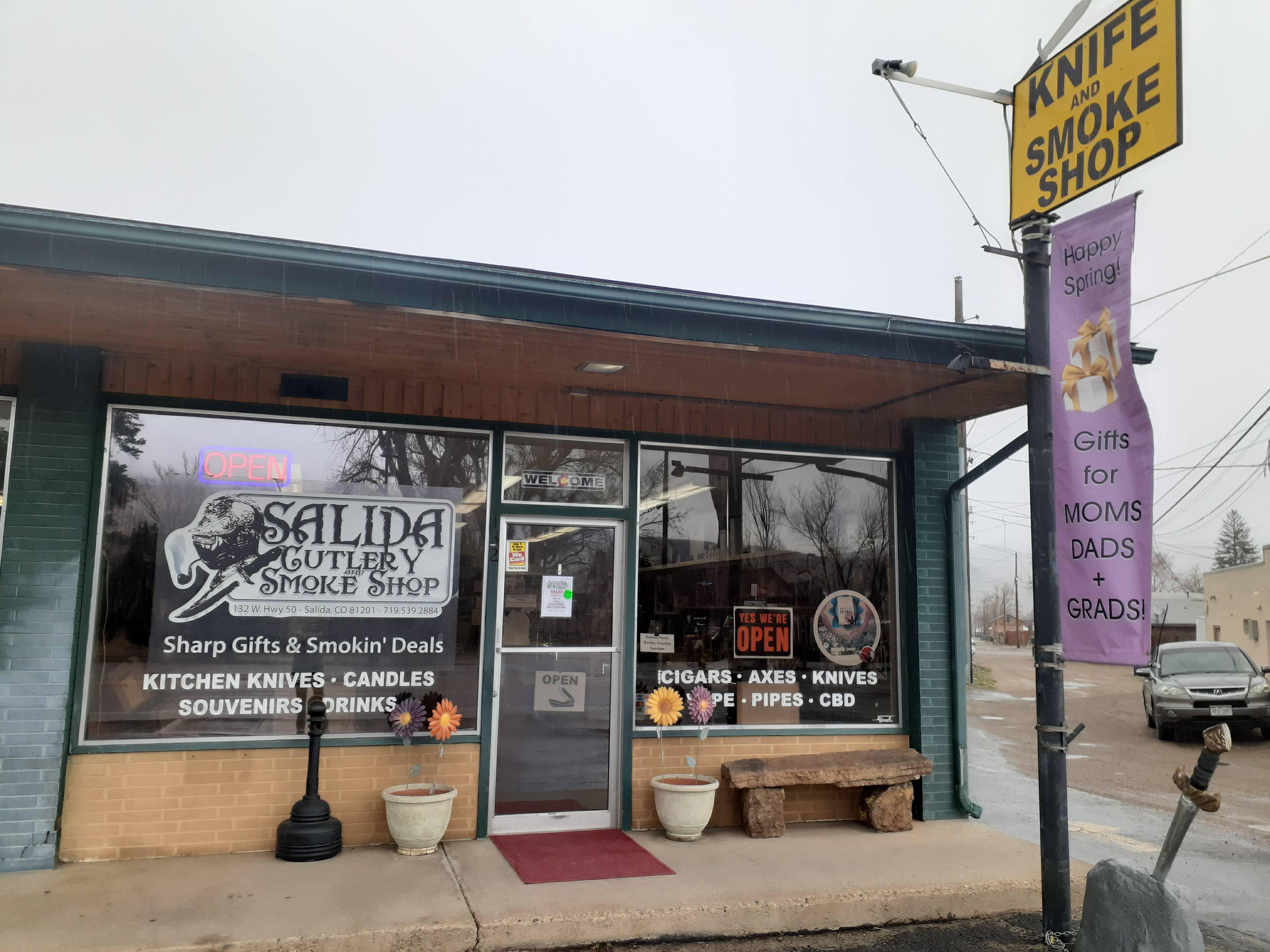 Salida Cutlery and Smoke Shop April 2021