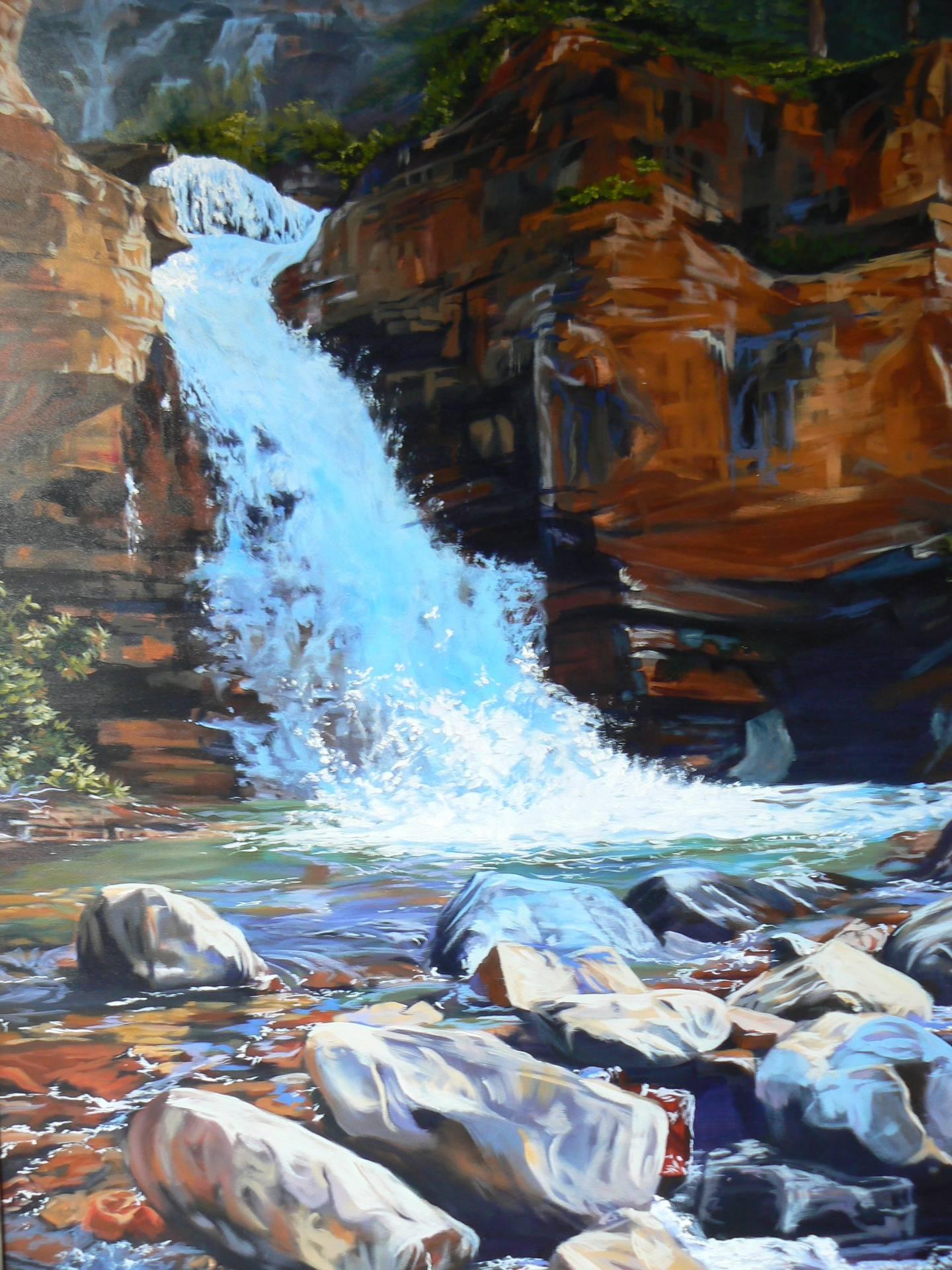 Tangle Falls Jasper Alberta