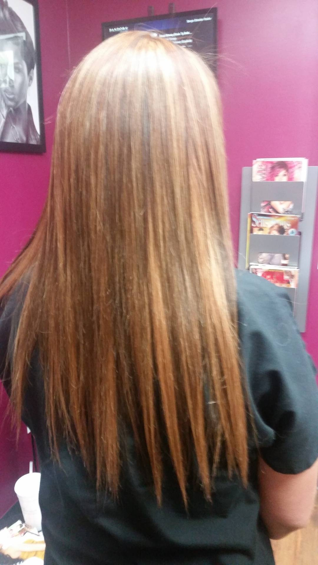 Sewn in extensions