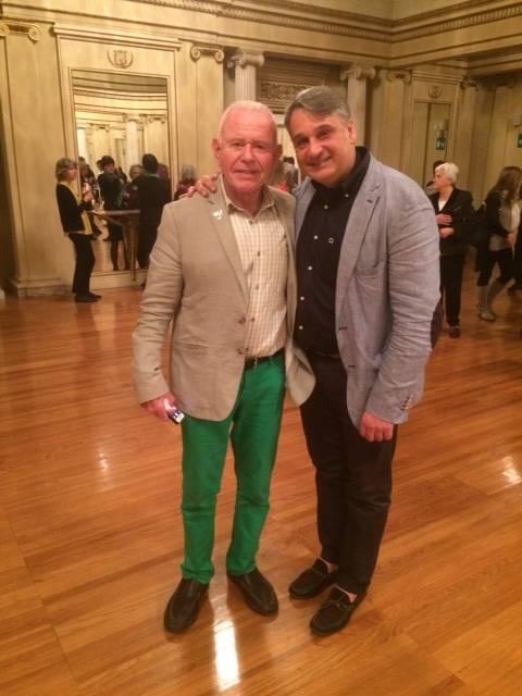 Del Tredici and I at La Scala