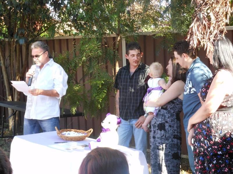 Alexi's Naming Day at Bradbury