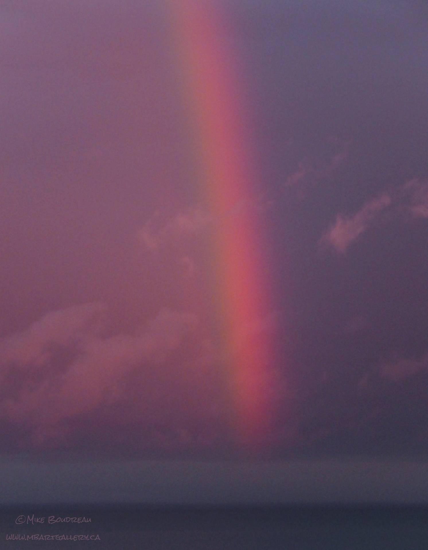 Bay of Fundy Rainbow, Saint John NB