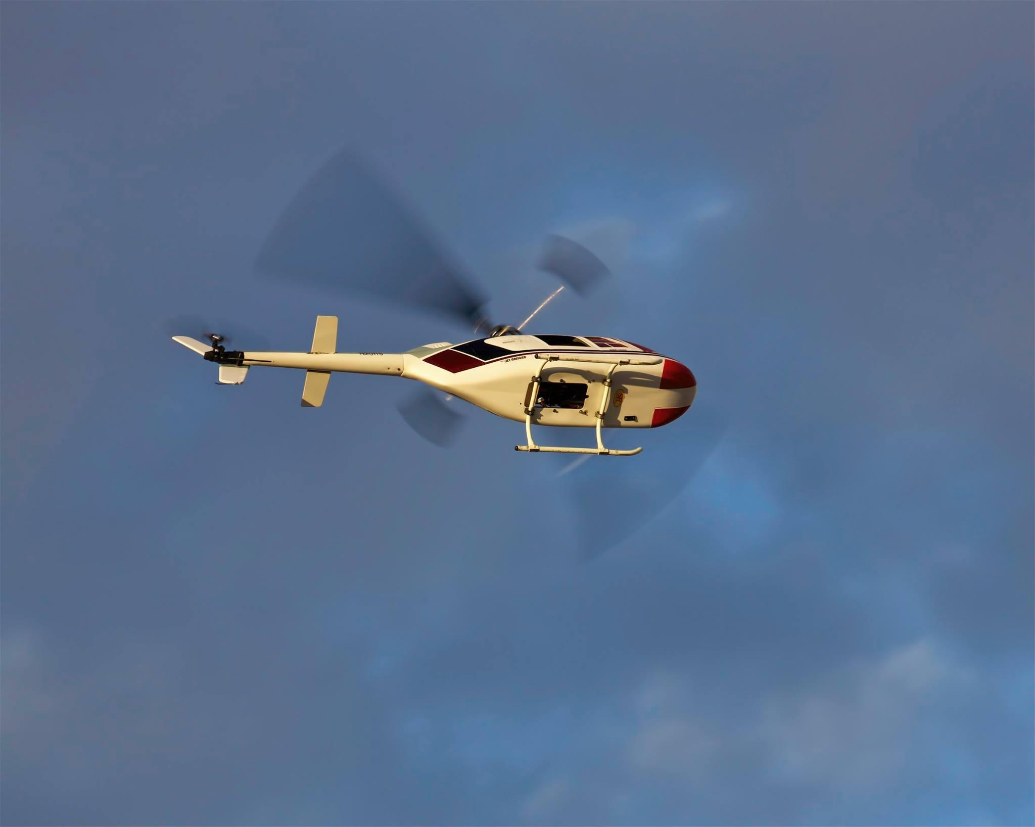 Ranger flies again over the LVSC field 2017