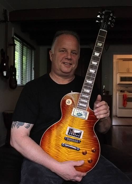 Bill's new Les Paul Standard