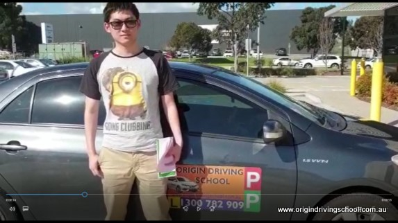 Heatherton VicRoads Pass First Time !! Well Done Michael Wei