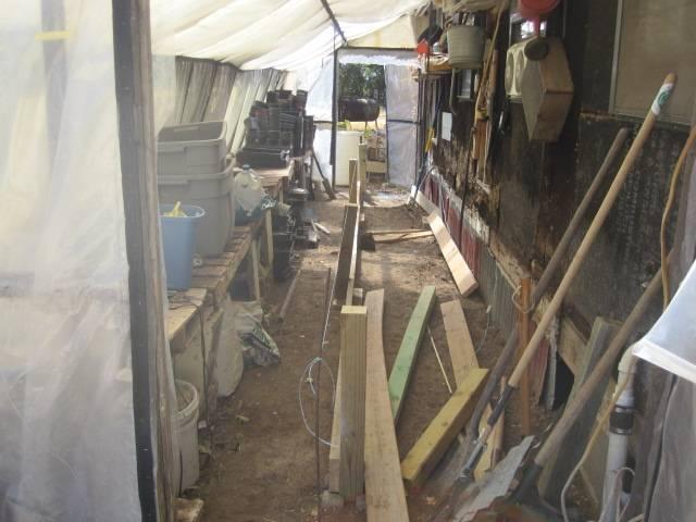 Building the Fish tank-fram