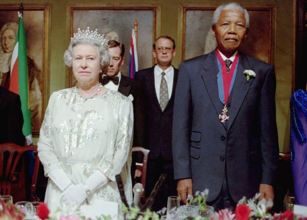 Mandela and Queen Elizabeth