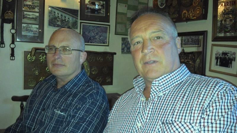 Lee bronson and Tom Tyrone