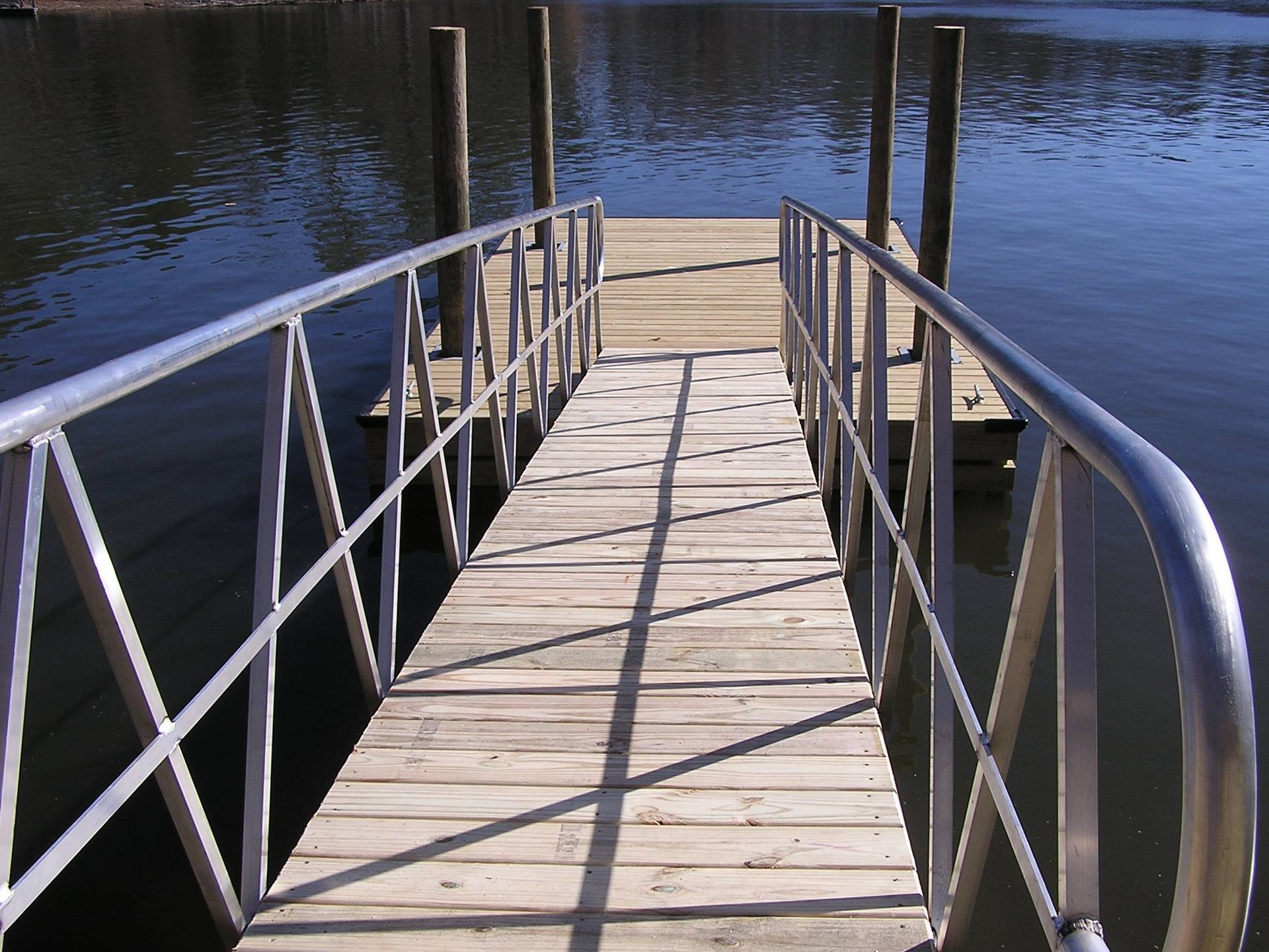 """Aluminum """"A"""" Style Transition Ramp"""