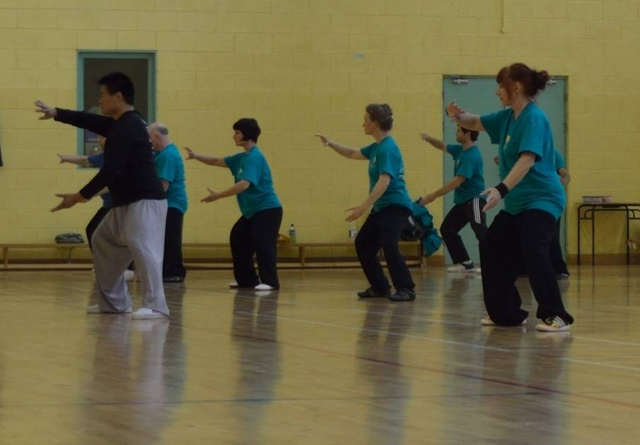 Chen Taiji Chan Su Jing Silk Reeling Exercises
