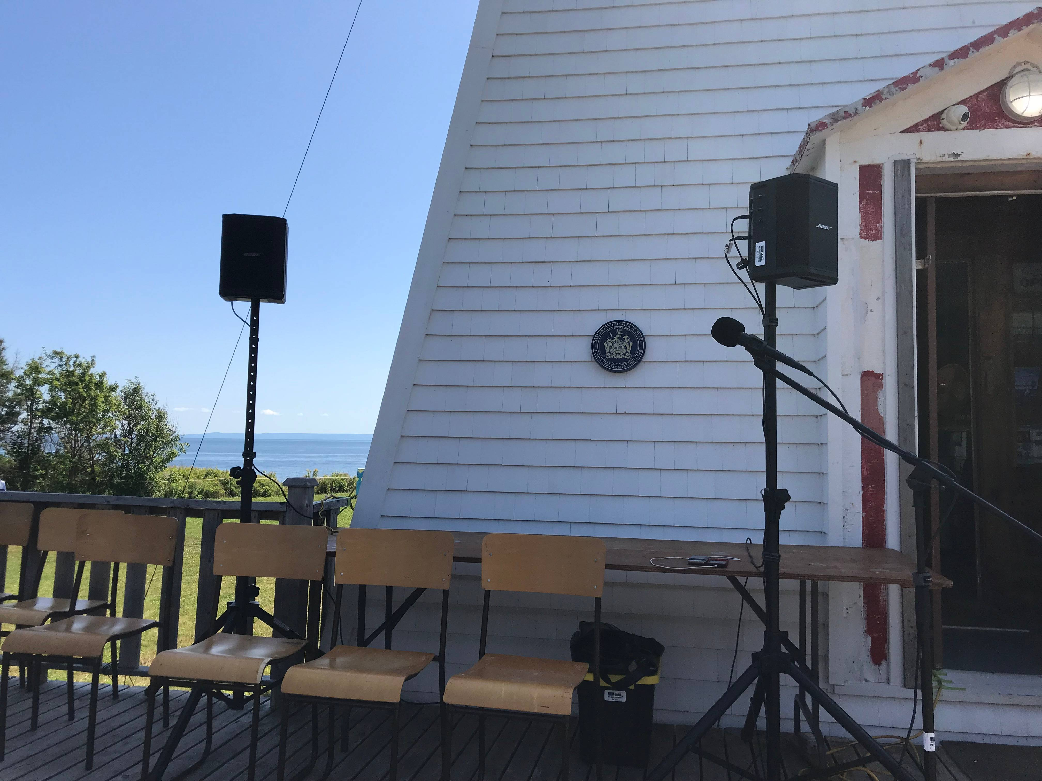 Outdoor Event with Bose S1 Pro