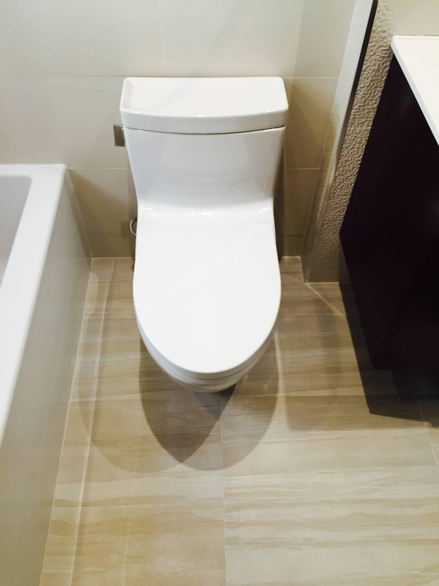 Heated Toilet and Floor