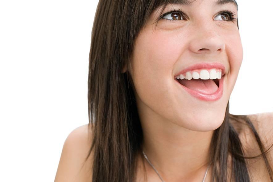 Sourire jeune fille