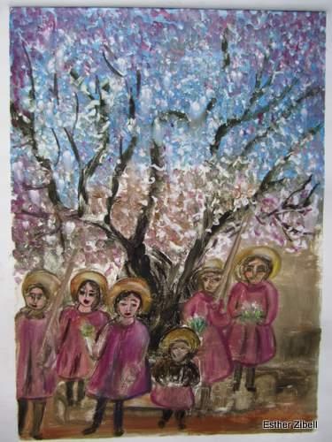 Children Under Almanod Tree
