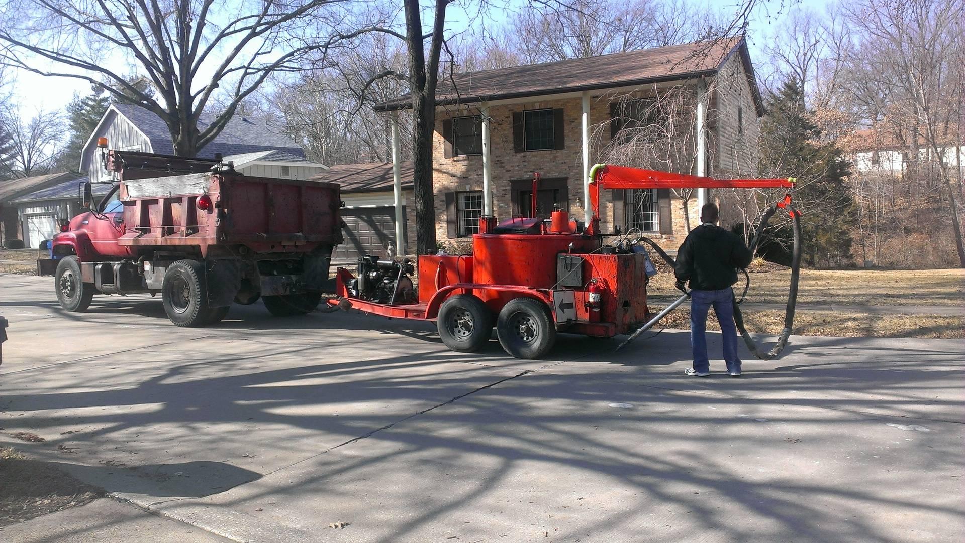 NuCoat Sealing, LLC:  Crack sealing in a neighborhood near you!