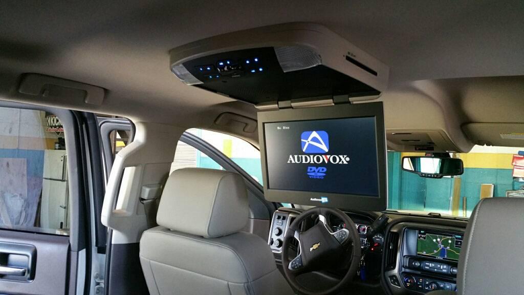 "2016 Z71 Audiovox 13"" Overhead DVD System"