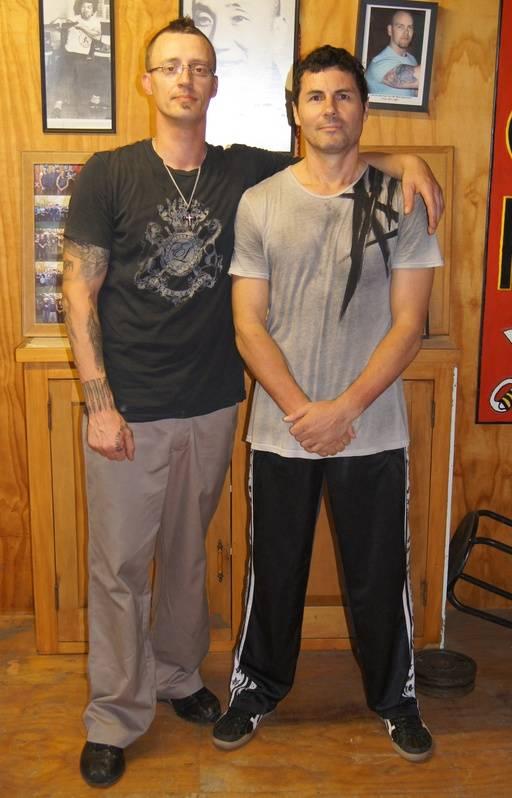 Paul Woods & Clay Xmas 2011