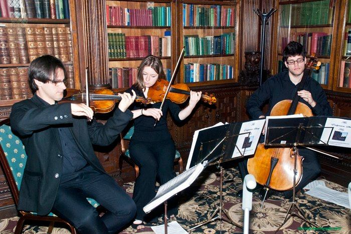 String Trio at Crewe Hall