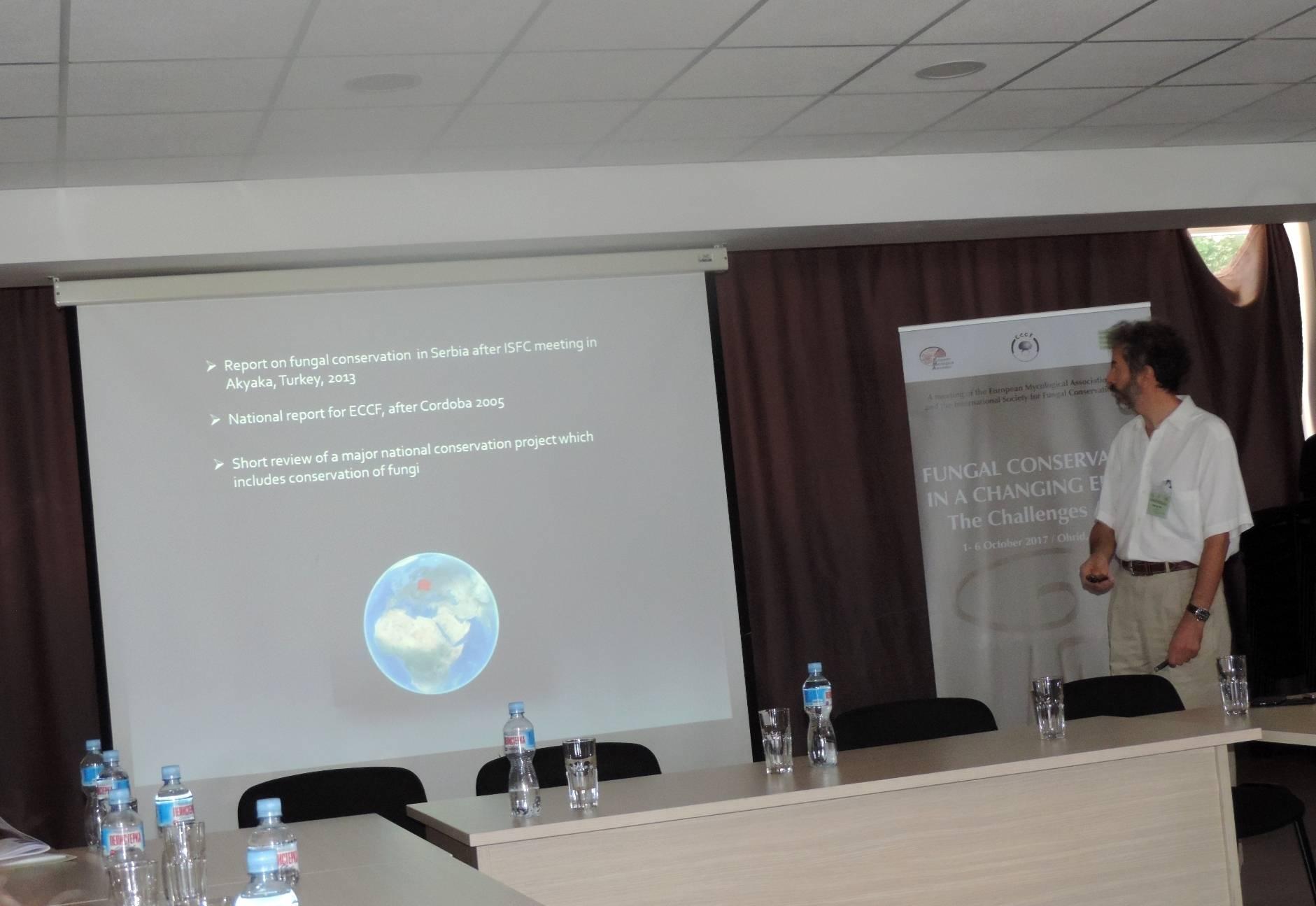 Boris Ivancevic on Fungi Red Listing in Serbia