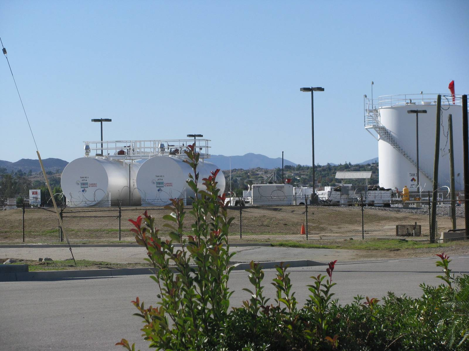 Fuel Facility for Commercial Aviation Operations