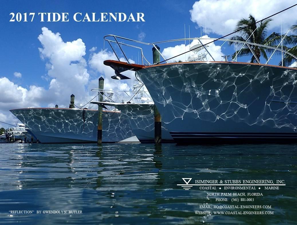 2017 Tide Calendar Cover