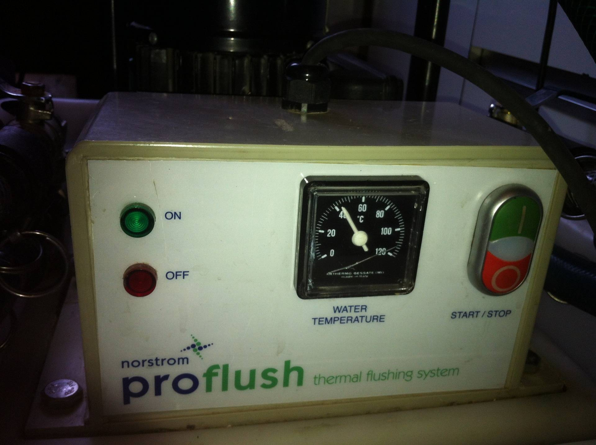 The thermal heating unit on our 'Norstrom' powerflush unit.