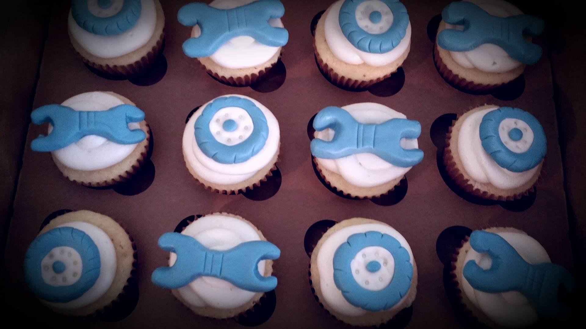 Mechanic's Cupcakes