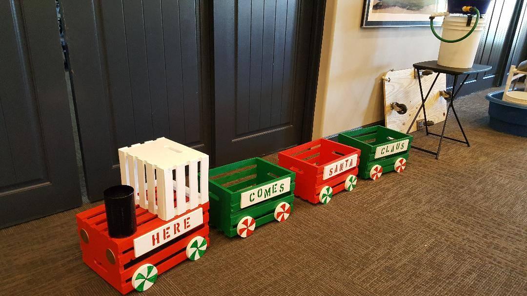Train for auction