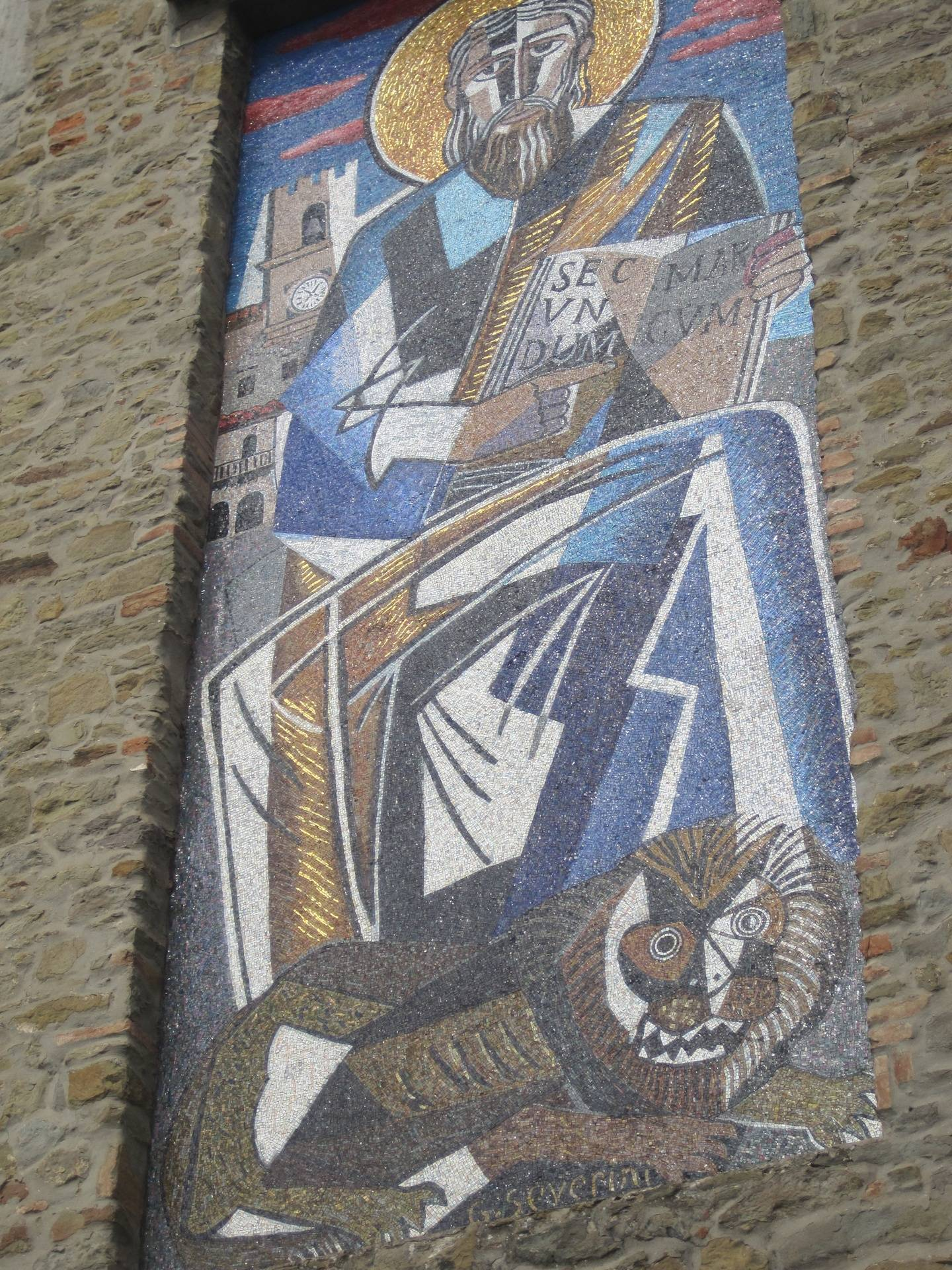 Cortona mosaic