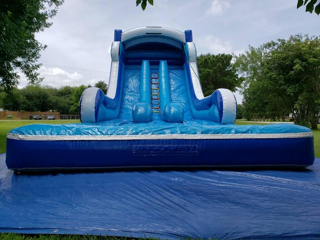 18' Double Lane Water Slide $330.00 Plus Tax