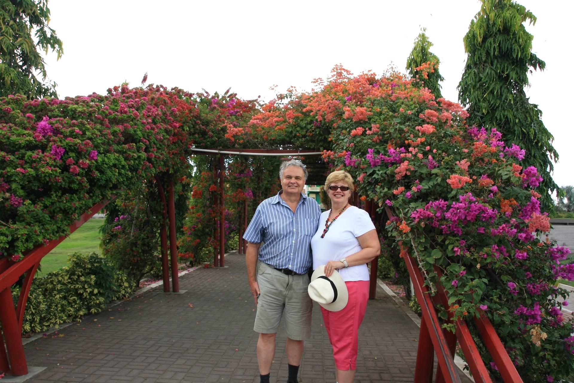 Panama City - Lynda and Randy at Old Town