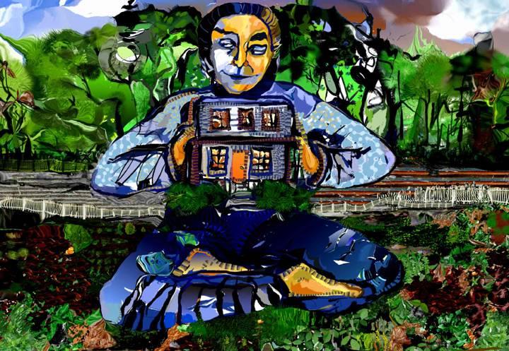 House Buddha Contemplating