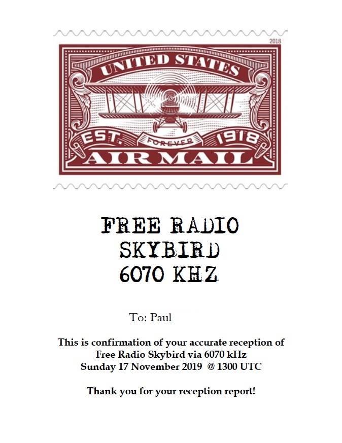 Free Radio Skybird