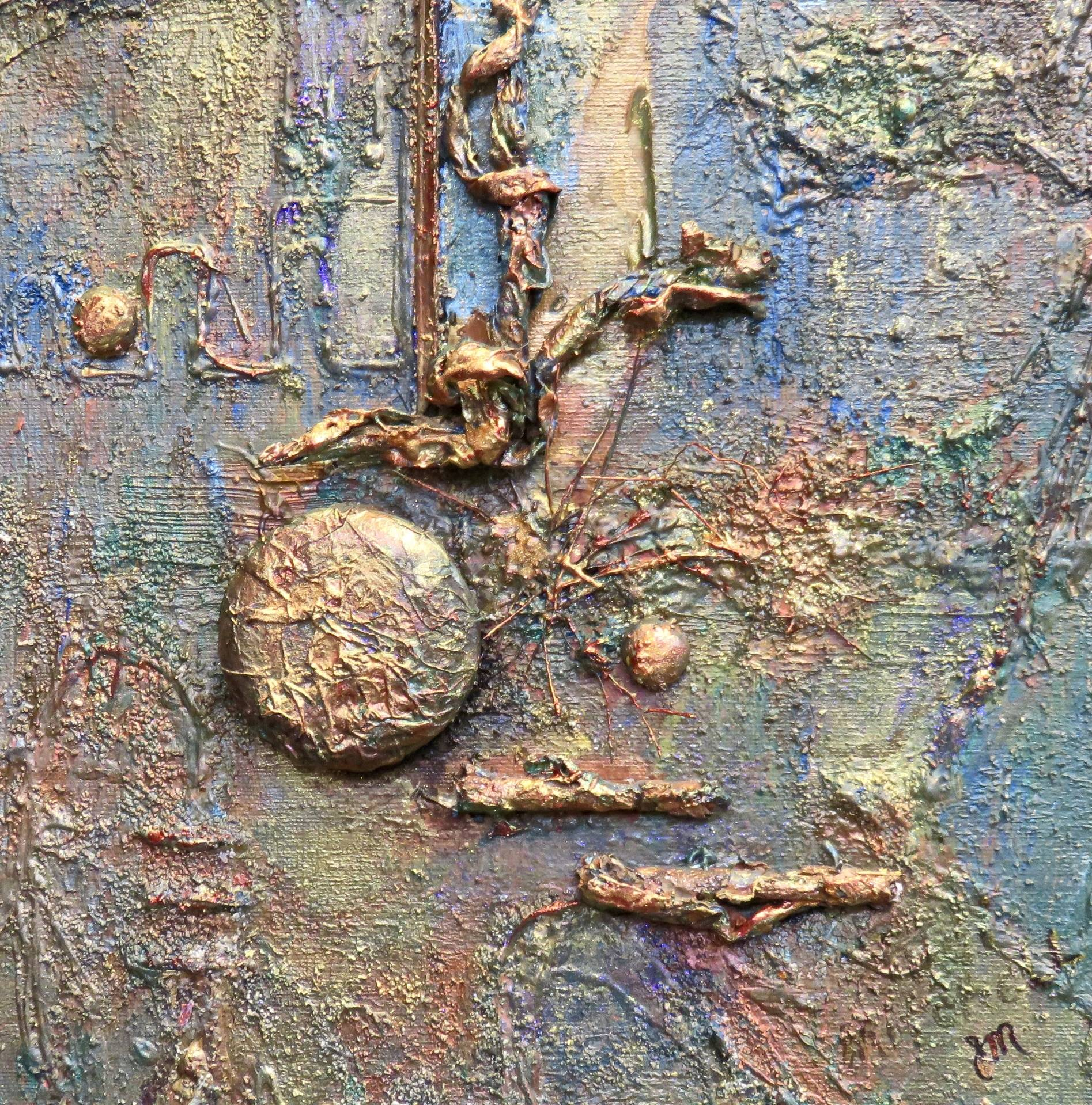Metallic Green and Copper #1