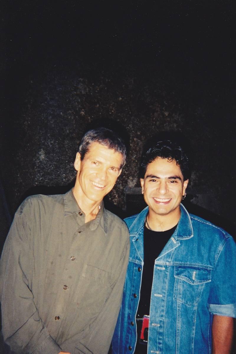 David Sanborn and me