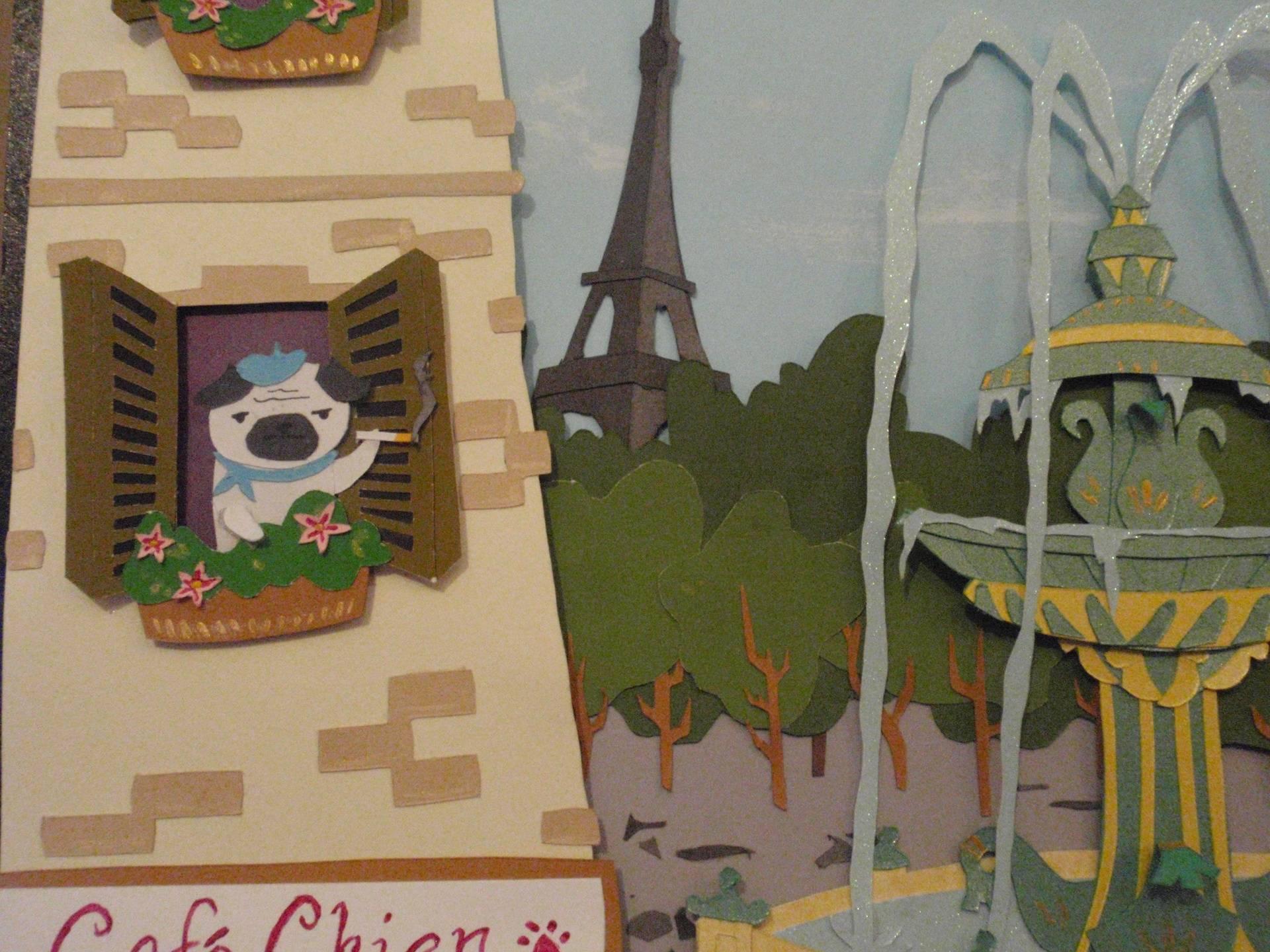 Douglas and Veronica in Paris