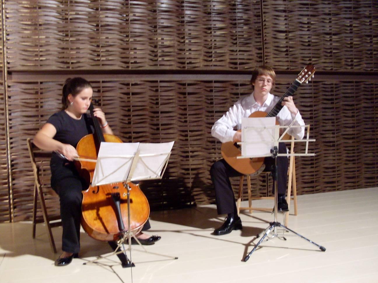 Concierto en el Museo ETNOGRAFICO de Mansilla